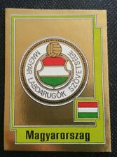EURO 80 EUROPA 80 PANINI ORIGINAL UNUSED STICKER MAGYARORSZAG HUNGARY BADGE 219