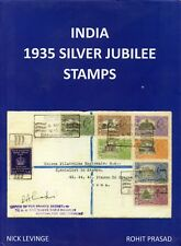 India BOOK (new) '1935 Silver Jubilee stamps' by Levinge & Prasad, pub. 2018