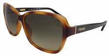 FENDI OCCHIALI DA SOLE DONNA FS 5275-215LIGHT HAVANA ORIGINALI