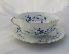 Blue Vintage Original European Porcelain & China