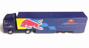 1/87 MAN TGX RED BULL RACING TRUCK MAJORETTE TRANSPORTER CAR DIECAST TOY MODEL