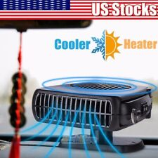 12V DC Car Auto Portable Electric Heater Heating Cooling Fan Defroster Demister