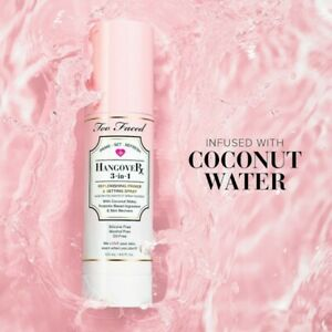 TOO FACED Hangover 3 in 1 Primer- Set- Refresh 4 oz.  AUTHENTIC!!!!