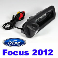 Car Trunk Handle Rearview Camera for Ford Focus 2012-2015 Focus2 Focus3 with LED