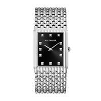 Wittnauer Men's Cosmopolitan Quartz Diamond Accent 31x42mm Watch WN3082