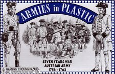 Armies in Plastic Seven Year's War (1756-1763) Austrian Infantry 1/32 Scale 54mm