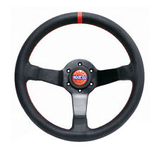 SPARCO RACING CHAMPION PERFORATED LEATHER STEERING WHEEL COMPETITION DISHED
