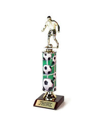 Soccer Trophy- Male- Colorful- Classic Series- Free Lettering