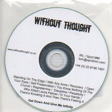 (O600) Without Thought, ithout Thought - DJ CD