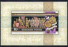 Hungary 1972 Royalty/King/Lion/Heraldry/Legislation/Government 1v m/s (n33885)
