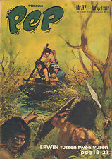 PEP 1967  nr. 17 -  ERWIN (COVER HANS G. KRESSE)/WALLY TAX/SOUND MAGICS/PEBBLES