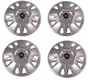 """Genuine Fiat Ducato Van & Motorhome 15"""" Wheel Trims Set Of 4  2006-Onwards"""