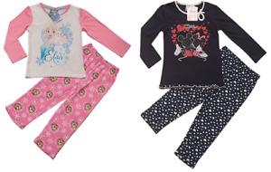 Schlafanzug Schlafi Pyjama Mädchen Kinder Frozen Disney Minnie Mouse100%Baumwole