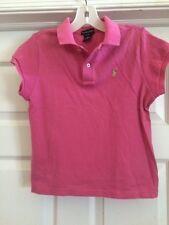 Fabulous Ralph Lauren Girl's Pink Polo Shirt-Size XL(16)
