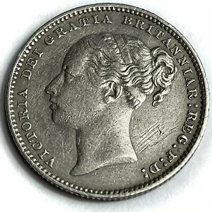 1879 Shilling Queen Victoria Collectable Grade REF:E339