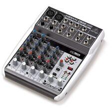 Behringer Xenyx Q802USB 8 Input 2 Bus Small Format Live Studio Mixer Mixing Desk