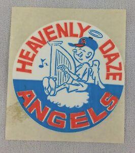 MLB 1960's California Angels Heavenly Daze Logo Decal