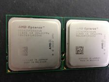 Pair of AMD Opteron 2425 HE OS2425PDS6DGN SIX Core 2.1GHz Socket Fr6(1207)