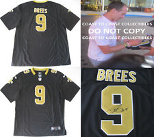Drew Brees New Orleans Saints signed autographed football Jersey, COA with proof