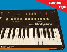 *** KORG POLYSIX Survival Pack - NEW STUDIO SOUNDS + FACTORY PATCHES / SOUNDS