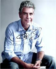 ANTHONY BOURDAIN REPRINT SIGNED 8X10 PHOTO PICTURE AUTOGRAPHED CHRISTMAS GIFT