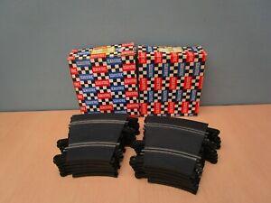 12 BOXED VINTAGE HORNBY SCALEXTRIC TRACKS - HALF STANDARD CURVES PT 54