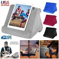 Multi Angle Soft Pillow Stand Holder for Smartphone Tablet iPad Books Stand Bed