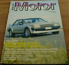 1980.Motor.Ford XD PHASE 5 GTHO.Audi QUATTRO.BMW ALPINA.VC Commodore.Countach