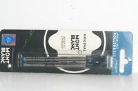 Montblanc Refills Rollerball Fine Point Blue 2Pack 15161 751994270909