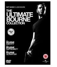 JASON BOURNE COLLECTION TRILOGY DVD STEELBOOK All 3 Movie Films Brand New Sealed