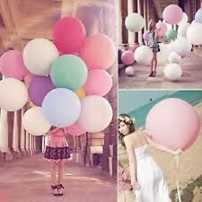 "1pc 36"" 15 colors Super Large Premium Pearl Latex Thick XL Balloons Party Helium"