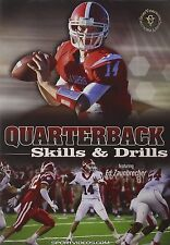 Quarterback Skills and Drills -  Football Instructional DVD - Free Shipping