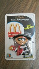 1999 Ronald McDonald Hamburgler Magnet sealed in package with Expired Coupons