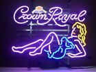 """New Crown Royal Beauty Whiskey Neon Sign Beer Bar Pub Gift Light 17""""x14"""""""