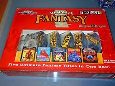 ULTIMATE FANTASY 5 GAME AD&D Compilation Big Box 1995  PC  VGC Rare
