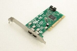 Dell H924H FAE10 2 Port Dual IEEE 1394 FireWire PCI Adapter Card