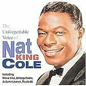 The Unforgettable Voice of, Nat 'king' Cole, Very Good CD