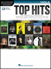 """""""TOP HITS"""" INSTRUMENTAL PLAY-ALONG-FOR VIOLA MUSIC BOOK/AUDIO ACCESS-NEW ON SALE"""