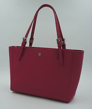 TORY BURCH Tasche York, Handtasche, Saffiano Leder, Rot / Pink, NEU