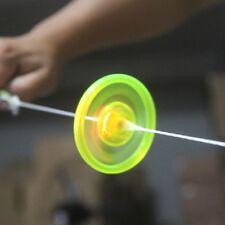 Hand Pull Flashing LED Luminous Flywheel Toy Rope Spinner Birthday Baby Kid Gift