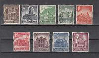 Deutsches Reich, Nr. 751-759, postfrisch