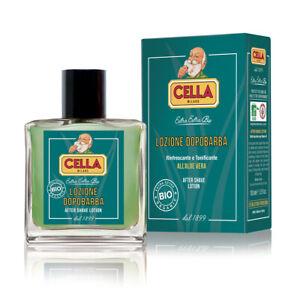 CELLA BIO Organic Aftershave | 100ml Bottle | Lozione Dopobarba