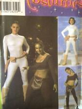 Simplicity Sewing Pattern 4433 Misses Girls Star Wars Padme Costume Size S-L UC