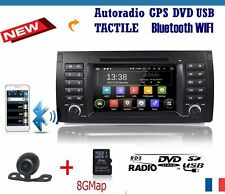 autoradio bmw e39 e53 X5 GPS Wifi BLUETOOTH + camera recul