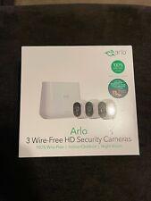 New ListingNetgear - Arlo Home Security Wireless - 3 Cameras - New sealed box night vision