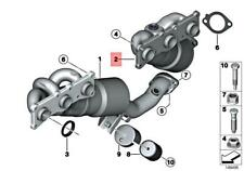 Genuine BMW E81 E82 E87 E88 Exch. Exhaust Manifold With Catalyst 18407646697