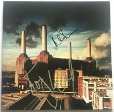 Pink Floyd signed album animals lp Roger Waters Nick Mason dual autograph fa loa