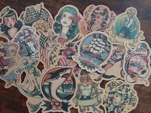 Sailor Jerry tattoo stickers