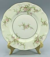 THEODORE HAVILAND ROSALINDE NEW YORK DINNER PLATE RED STAMP