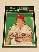 2012 Topps Archives Baseball Base Card - Mike Schmidt - Philadelphia Phillies